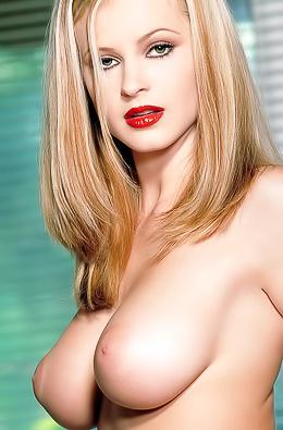 Busty Blonde Bombshell Chantelle Fontain