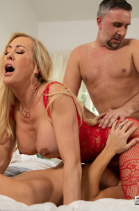 Brandi Love And Holly Hotwife In Tasty Hardcore Threesome
