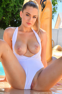 FTV Blake Sexy Blonde Shows Her Big Breasts