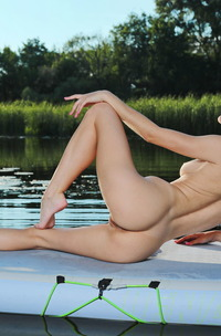 Aislin Strips And Showing Off Her Stunning Body