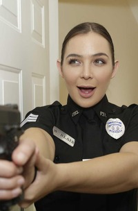 Blair Williams And Scarlett Johnson In Cops Fuckfest