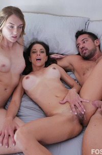 Charlotte Sins And Eva Long Hot Threesome