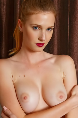 Busty Ashley Lane Strips