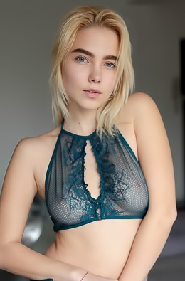 Scarlet - Her blue eyes and gorgeous natural tits will seduce you